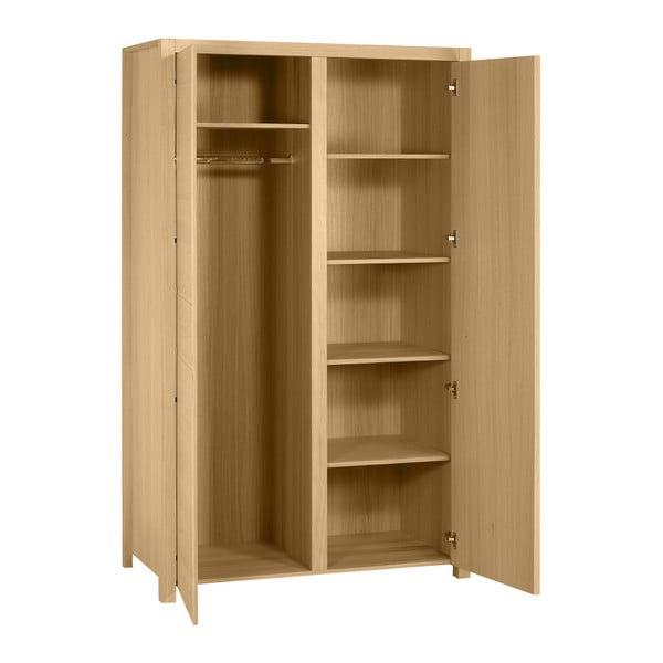 Dvoudveřová skříň z dubového dřeva Artemob West