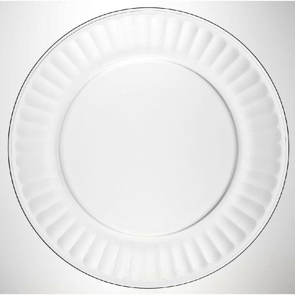 Skleněný talíř Pure, 25 cm