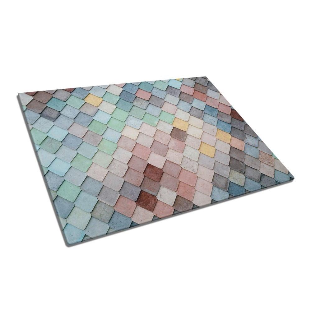 Skleněné prkénko na krájení Insigne Mosaic
