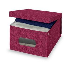Fialový úložný box Bonita Ella, vel. L