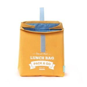 Taška na svačinu Pack & Go Lunch Large Yellow