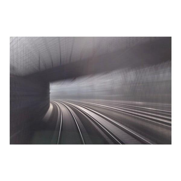 Fotografie Train 2, limitovaná edice fotografa Petra Hricka, formát A1