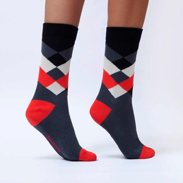 Ponožky Ballonet Socks Diamond Cherry, velikost36–40