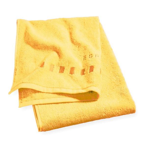 Osuška Esprit Solid 70x140 cm, žlutá