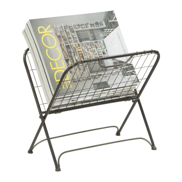 Stojan na časopisy z kovu Mauro Ferretti Phoenix, 34 x 30 cm