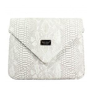 Bílá kabelka Dara bags Envelope No.539