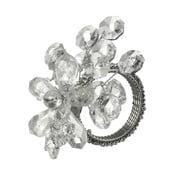 Kroužek na ubrousky Parlane Crystal, 9 x 7 cm