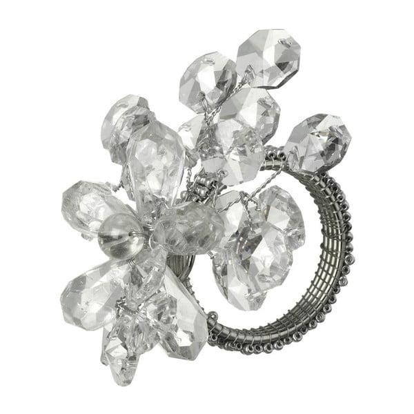 Krúžok na obrúsky Parlane Crystal, 9x7cm