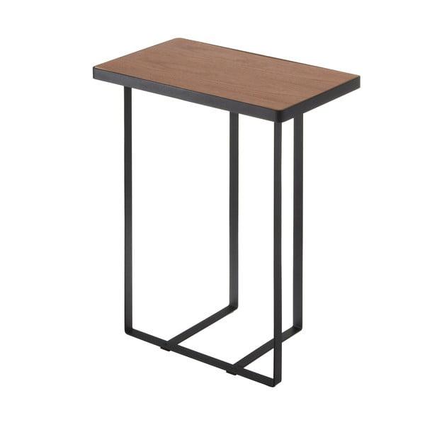 Măsuță cu suport pentru ziare Tower Magazine Rack&Table, negru