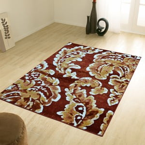 Hnědý koberec Webtappeti Pastel Garden, 160x230cm