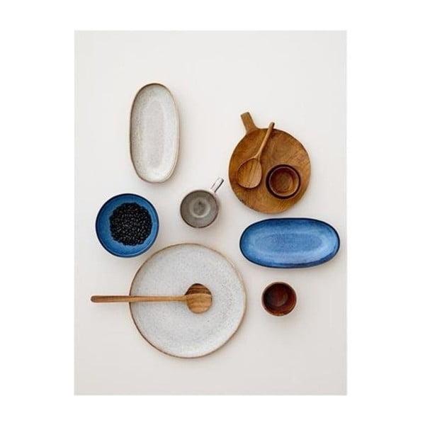 Bol din ceramică Bloomingville Sandrine, albastru