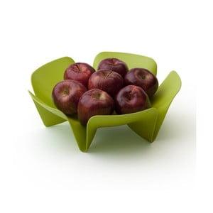 Malá zelená mísa na ovoce Qualy Flower Fruit Tray