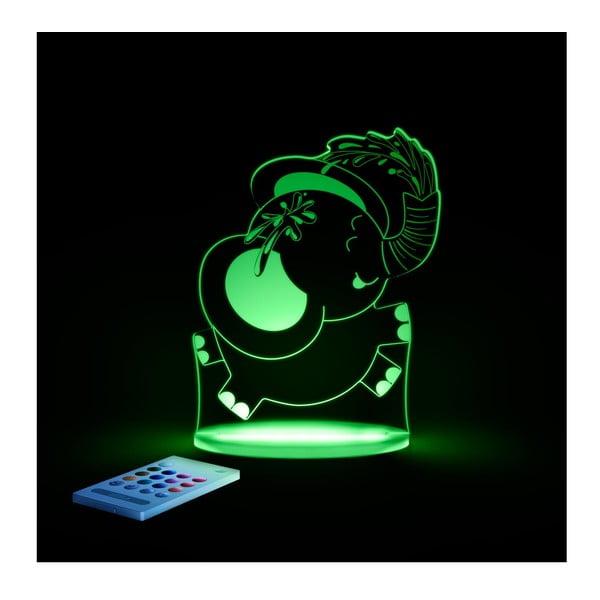 Dětské LED noční světýlko Aloka Elephant