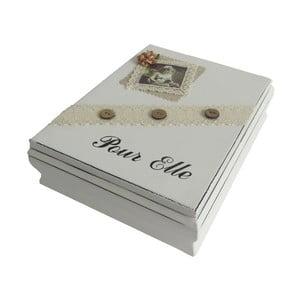 Krabička Antic Line Pour Elle