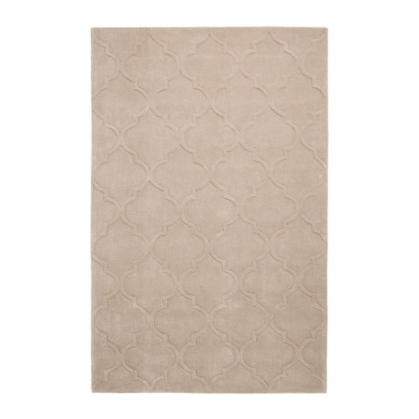 Covor țesut manual Think Rugs Hong Kong Puro Beige, 120 x 170 cm, bej
