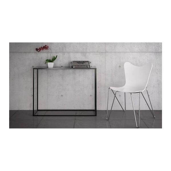 Černý konzolový stolek take me HOME Aren, 100x30cm