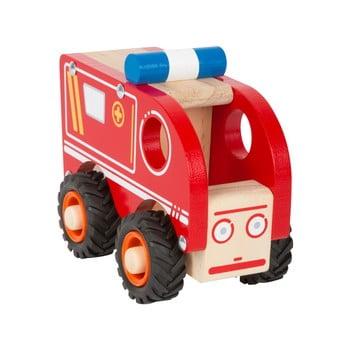 Ambulanță din lemn pentru copii Legler Ambulance de la Legler