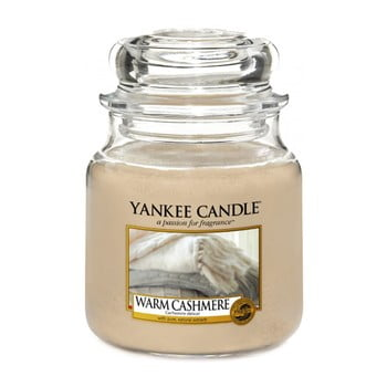 Lumânare parfumată Yankee Candle Warm Cashmere, timp de ardere 65 - 90 ore de la Yankee Candle