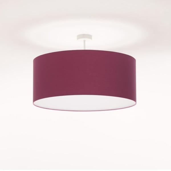 Fialové stropní světlo Artist, Ø 60 cm