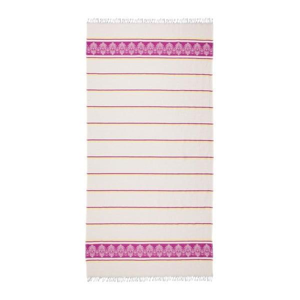 Růžovobéžová hammam osuška Deco Bianca Loincloth Pinky, 80x170cm
