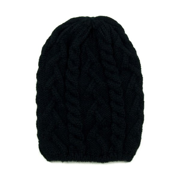 Čepice Knitted Black