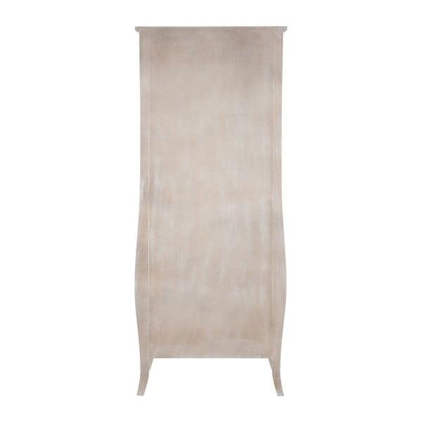 Šatní skříň Paulownia Natural, 70x37x180 cm
