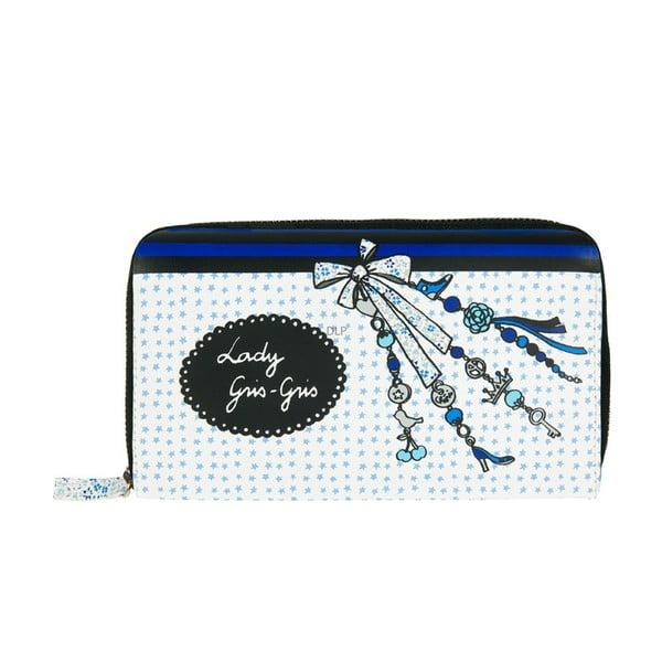 Peněženka Compagnon Lady, blue