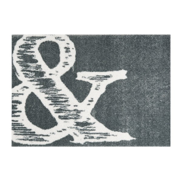 Sivá rohožka Mint Rugs StateMat And, 50 × 70 cm