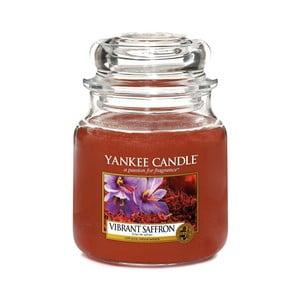 Vonná svíčka Yankee Candle Šafrán, doba hoření 65 - 90 hodin