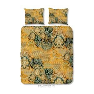 Povlečení na dvoulůžko z bavlněného saténu Muller Textiels Prasila, 200 x 200 cm