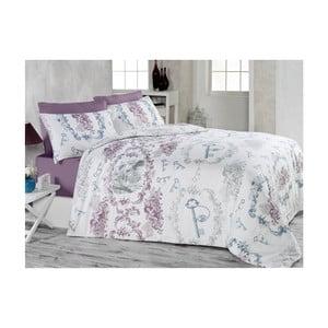 Lenjerie de pat cu cearșaf Angel, 200 x 220 cm