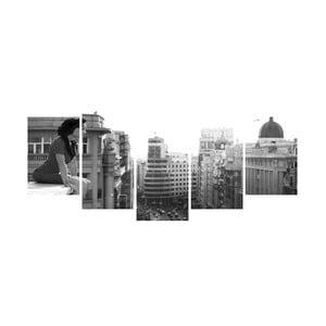 Vícedílný obraz Black&White no. 39, 100x50 cm