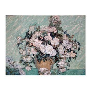 Reproducere tablou Vincent van Gogh - Rosas Washington, 60 x 45 cm