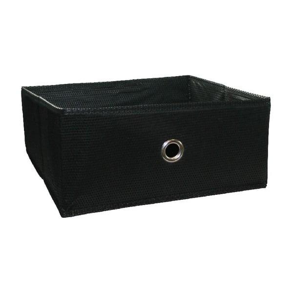 Úložný box Ordinett Halfkos Black