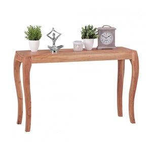 Konzolový stůl z masivního akáciového dřeva Skyport KILA