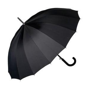 Černý holový deštník Von Lilienfeld Devon