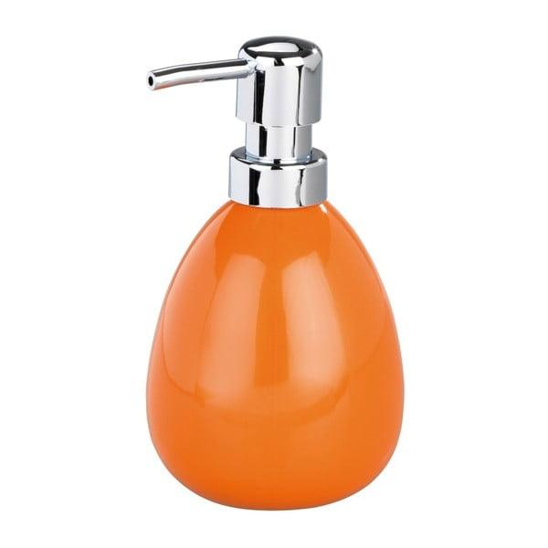 Oranžový dávkovač na mýdlo Wenko Polaris Orange