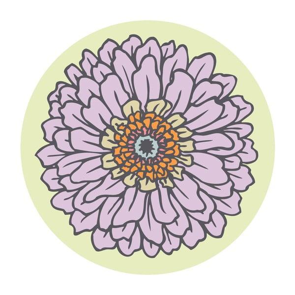 Samolepky Flower Beige