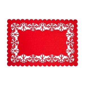 Červené prostírání Clayre & Eef Holy Merry Time II, 45 x 30 cm