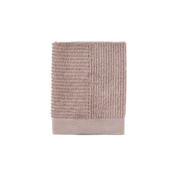 Béžový bavlněný ručník Zone Classic Nude, 50 x 70 cm