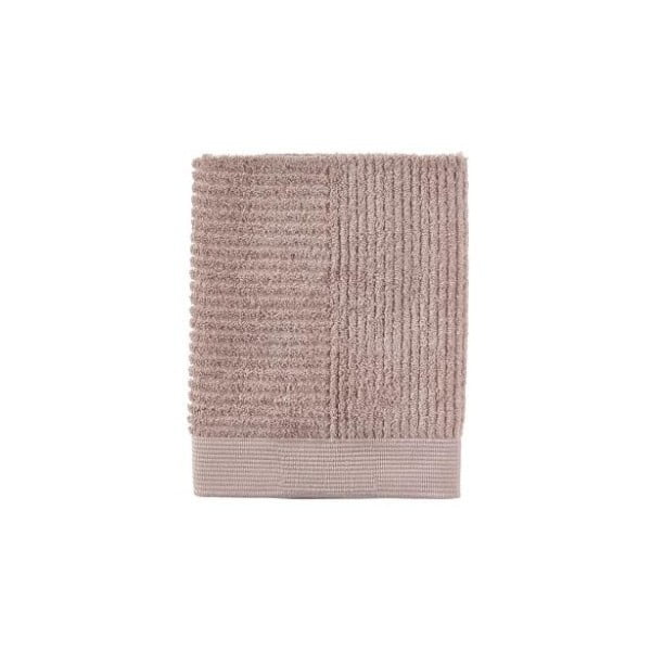 Classic Nude bézs pamut törölköző, 50x70 cm - Zone
