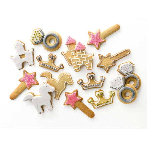 Set vykrajovátek Kit Cookies Princess