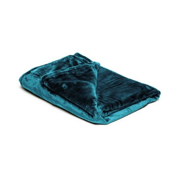 Pătură din micropluș My House, 150 x 200 cm, albastru petrol de la My House