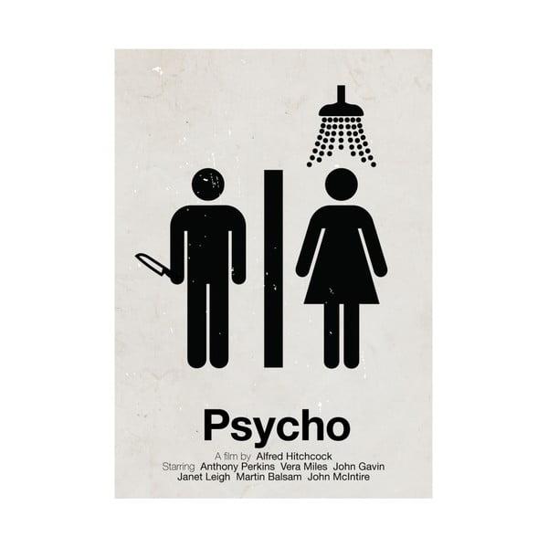 Plakát Psycho, 29,7x42 cm, limitovaná edice