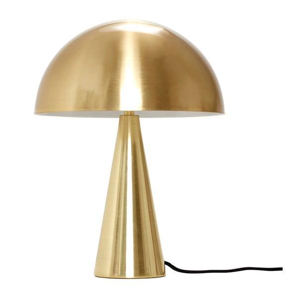 Stolní lampa ve zlaté barvě Hübsch Herho