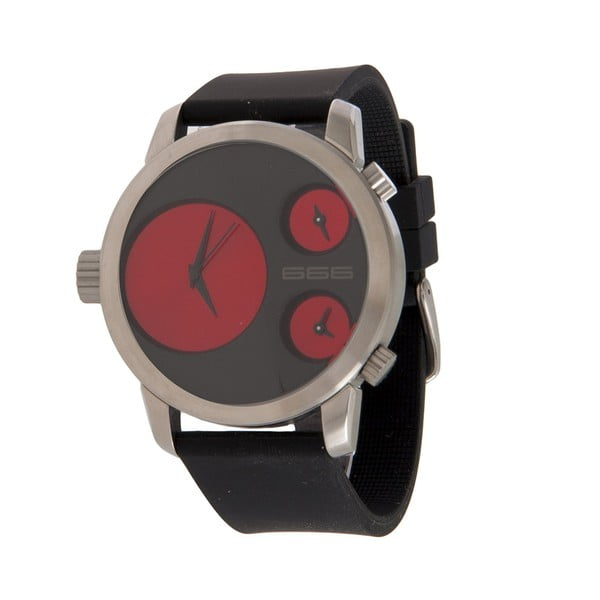 Pánské hodinky Colour Clock Red