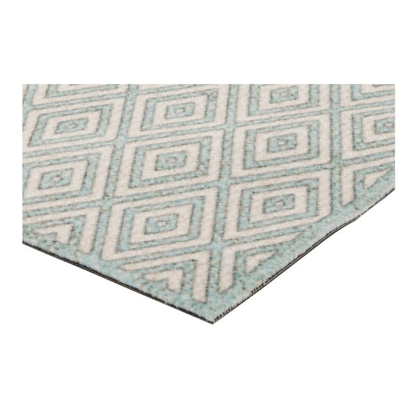 Krémovo-modrý běhoun Hanse Home Cook & Clean Michael, 60x180cm
