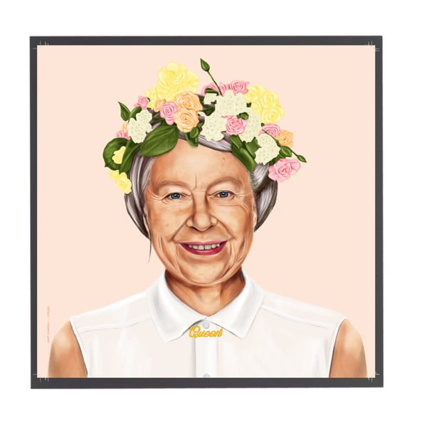 Obraz Fisura Queen Elizabeth, 50x50 cm