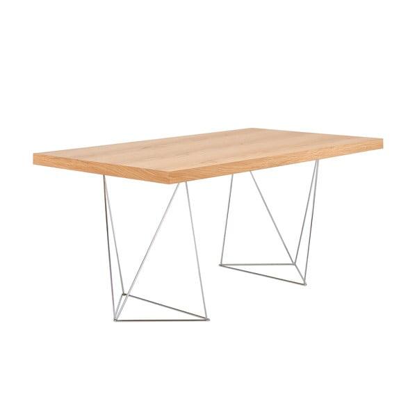 Světle hnědý stůl TemaHome Multi, 180 cm