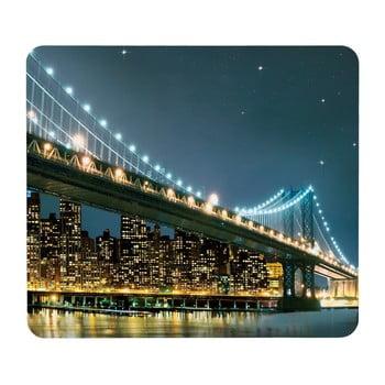 Suport din sticlă pentru protecția aragazului Wenko Brooklyn Bridge, 56 x 50 cm de la Wenko